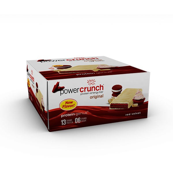 Shop Power Crunch Protein Bar, Red Velvet, 12 Count online  sports-nutrition-protein-bars