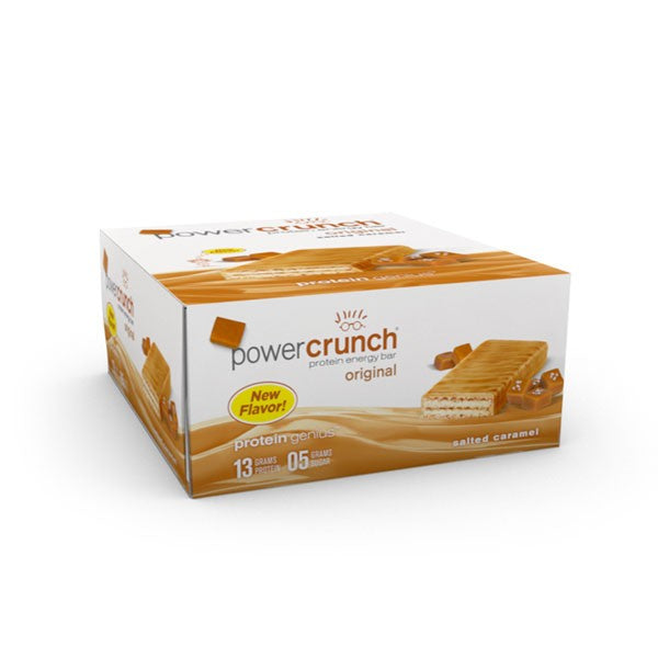 Shop Power Crunch Protein Bar, Salted Caramel, 12 Count online  sports-nutrition-protein-bars