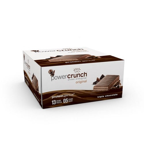 Shop Power Crunch Protein Bar, Triple Chocolate, 12 Count online  sports-nutrition-protein-bars