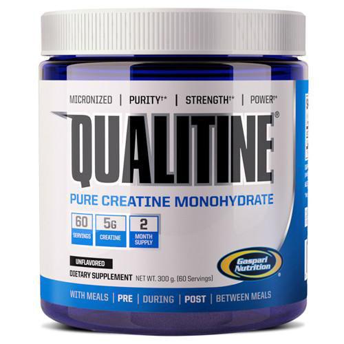 Shop Gaspari Nutrition Qualitine, 300 Gram online  creatine-nutritional-supplements