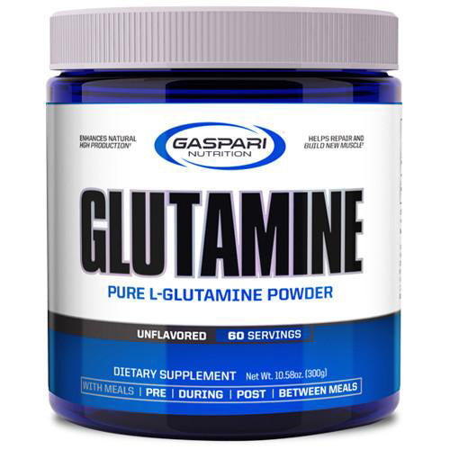 Shop Gaspari Nutrition Glutamine, 60 Serving online  l-glutamine-nutritional-supplements