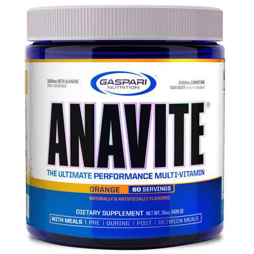 Shop Gaspari Nutrition Anavite, Orange, 60 Serving online  Vitamins