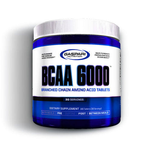Shop Gaspari Nutrition BCAA 6000, 180 Tablet online  branched-chain-amino-acids-nutritional-supplements