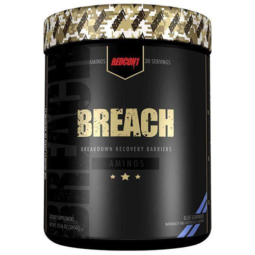 Shop RedCon1 Breach, 30 Serving, Blue Lemonade online  sports-nutrition-post-workout-and-recovery-products