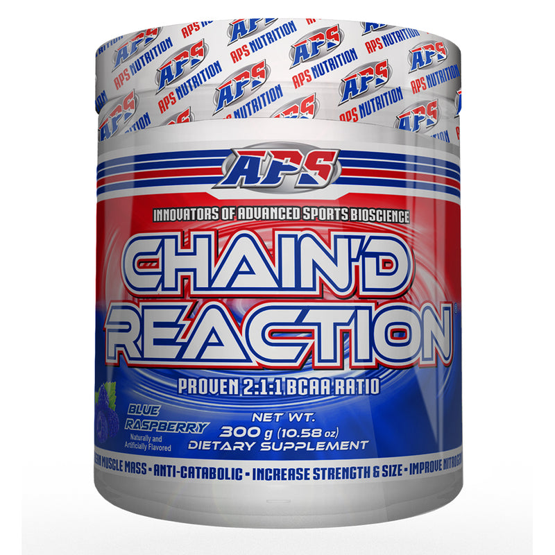 Shop APS Nutrition Chain'd Reaction, Blue Raspberry, 300 Gram online  branched-chain-amino-acids-nutritional-supplements
