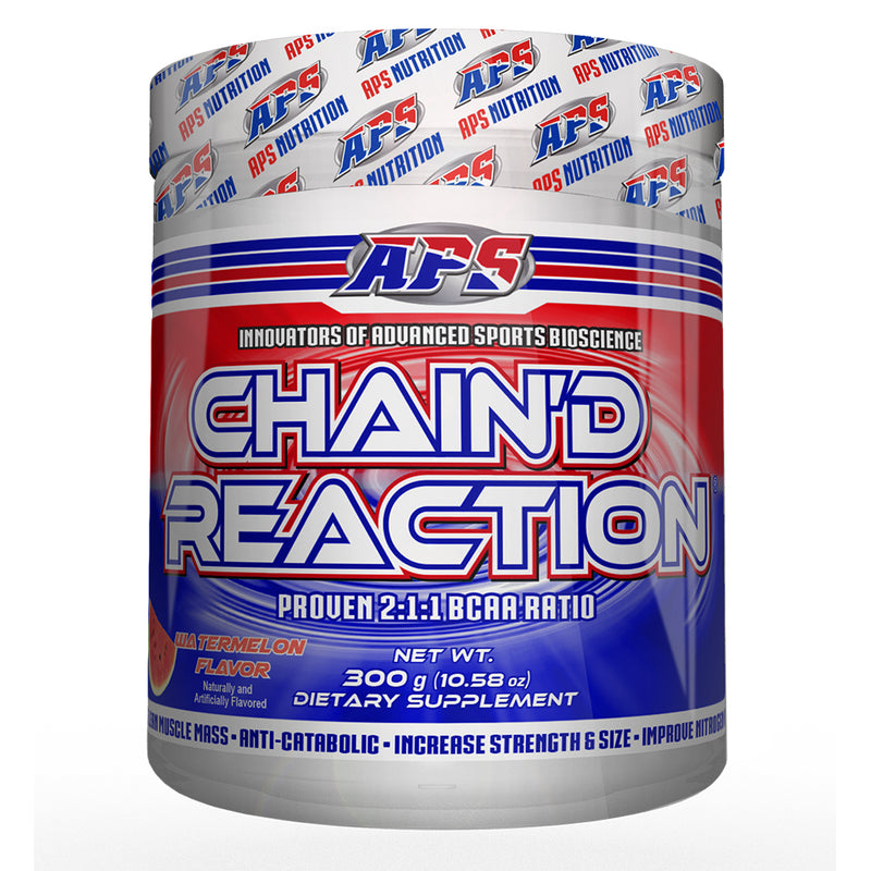 Shop APS Nutrition Chain'd Reaction, Watermelon, 300 Gram online  branched-chain-amino-acids-nutritional-supplements