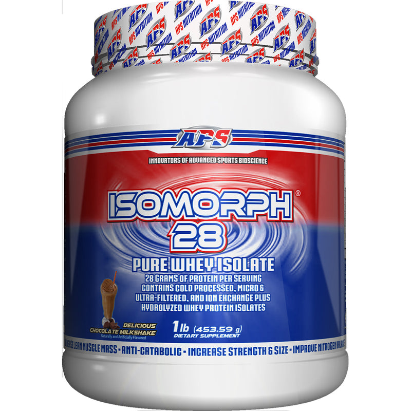 Shop APS Nutrition Isomorph 28, Chocolate Milkshake, 1 Pound online  sports-nutrition-protein-powder-blends