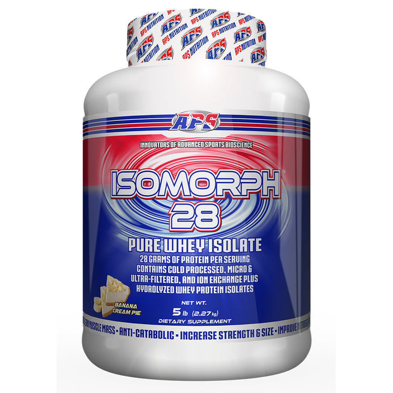 Shop APS Nutrition Isomorph 28, Banana Cream Pie, 5 Pound online  sports-nutrition-protein-powder-blends