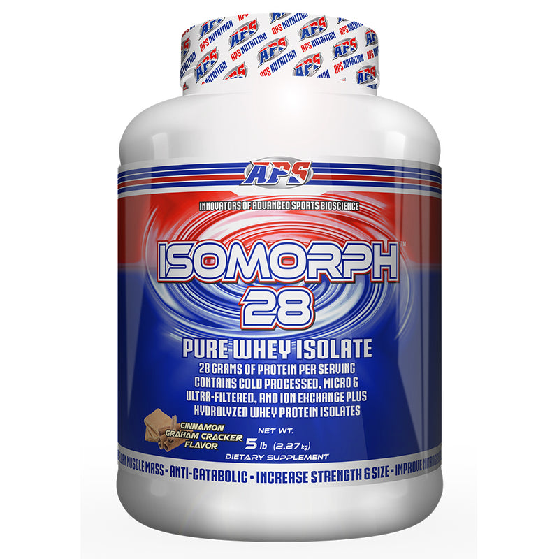 Shop APS Nutrition Isomorph 28, Cinnamon Graham Cracker, 5 Pound online  sports-nutrition-protein-powder-blends