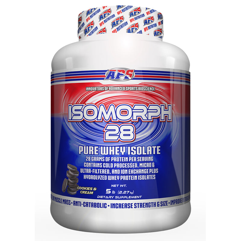 Shop APS Nutrition Isomorph 28, Cookies & Cream, 5 Pound online  sports-nutrition-protein-powder-blends