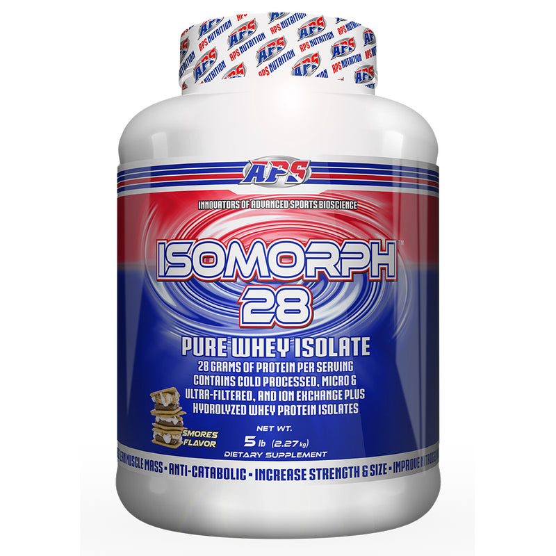 Shop APS Nutrition Isomorph 28, S'mores, 5 Pound online  sports-nutrition-protein-powder-blends