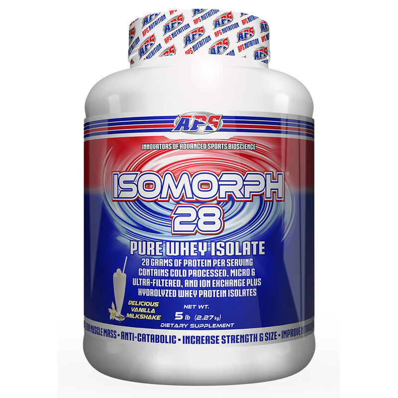 Shop APS Nutrition Isomorph 28, Vanilla Milkshake, 5 Pound online  sports-nutrition-protein-powder-blends