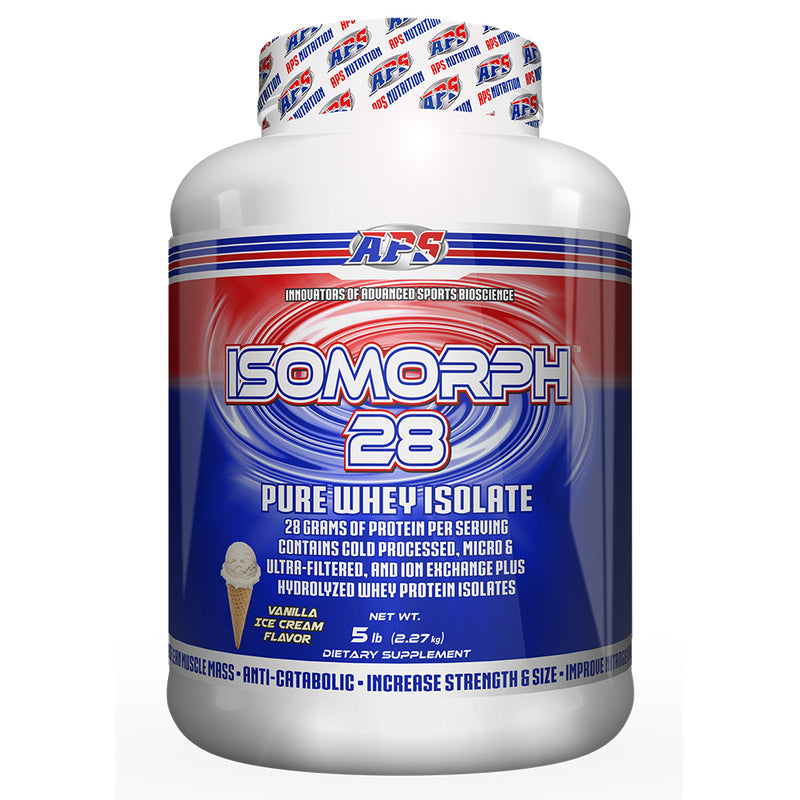 Shop APS Nutrition Isomorph 28, Vanilla Ice Cream, 5 Pound online  sports-nutrition-protein-powder-blends