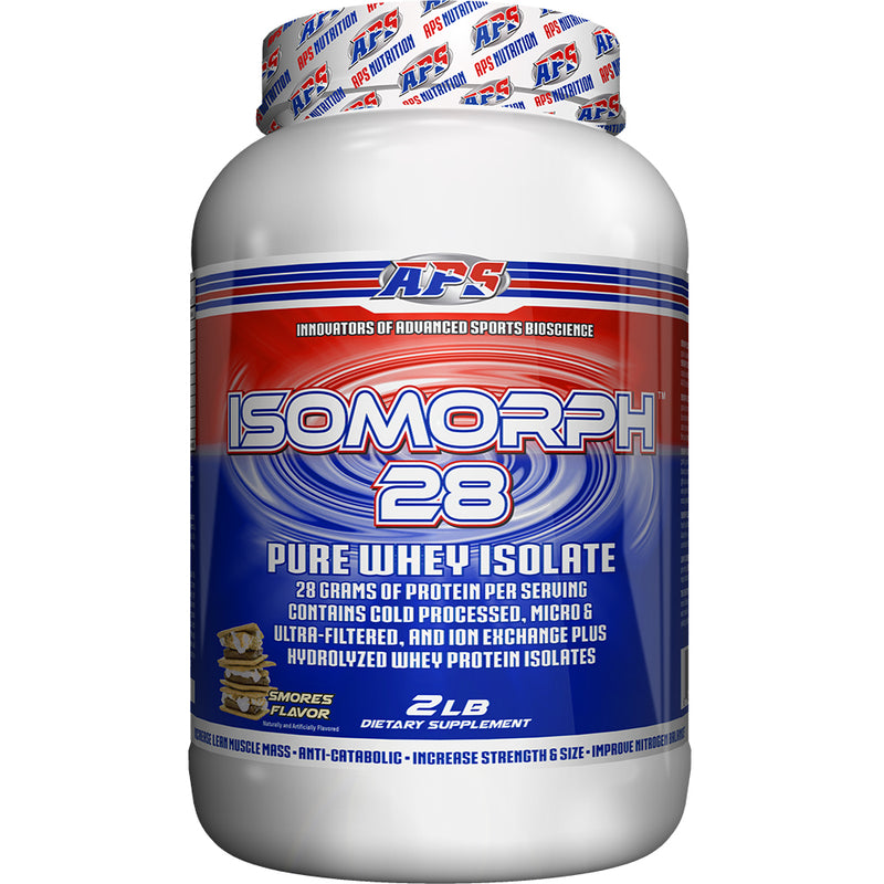 Shop APS Nutrition Isomorph 28, S'mores, 2 Pound online  sports-nutrition-protein-powder-blends