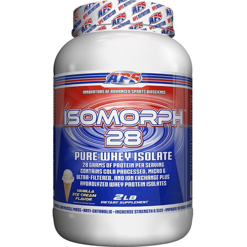 Shop APS Nutrition Isomorph 28, Vanilla Ice Cream, 2 Pound online  sports-nutrition-protein-powder-blends