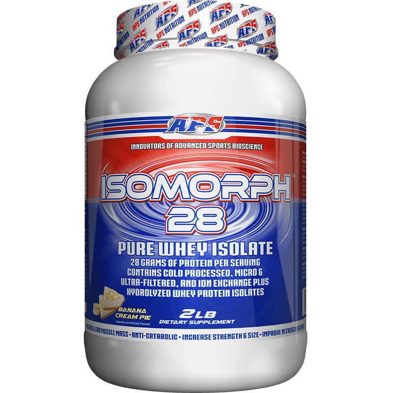 Shop APS Nutrition Isomorph 28, Banana Cream Pie, 2 Pound online  sports-nutrition-protein-powder-blends