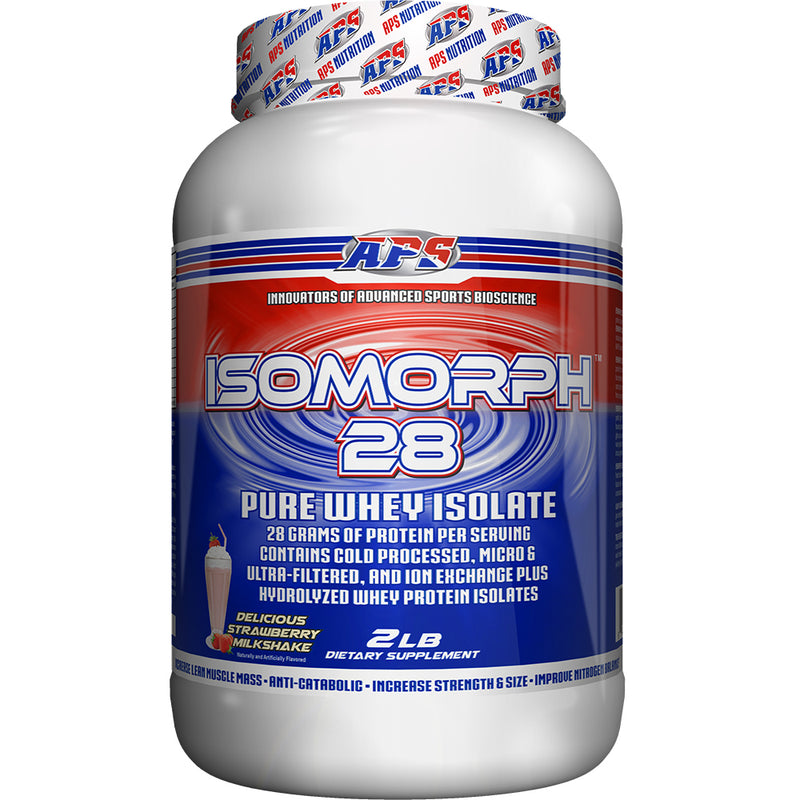 Shop APS Nutrition Isomorph 28, Strawberry Milkshake, 2 Pound online  sports-nutrition-protein-powder-blends