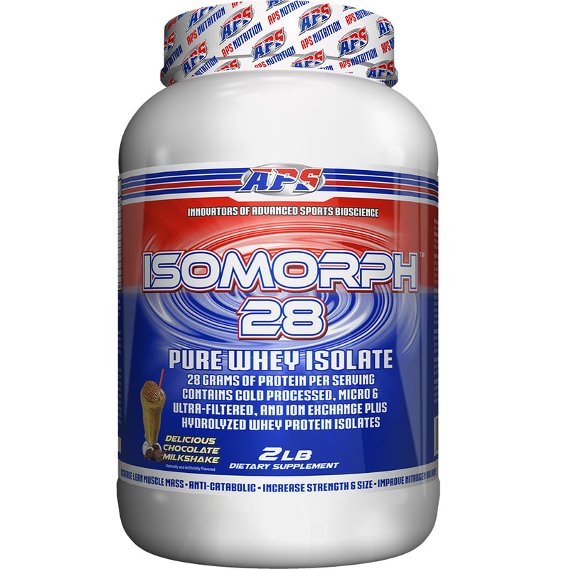 Shop APS Nutrition Isomorph 28, Chocolate Milkshake, 2 Pound online  sports-nutrition-protein-powder-blends