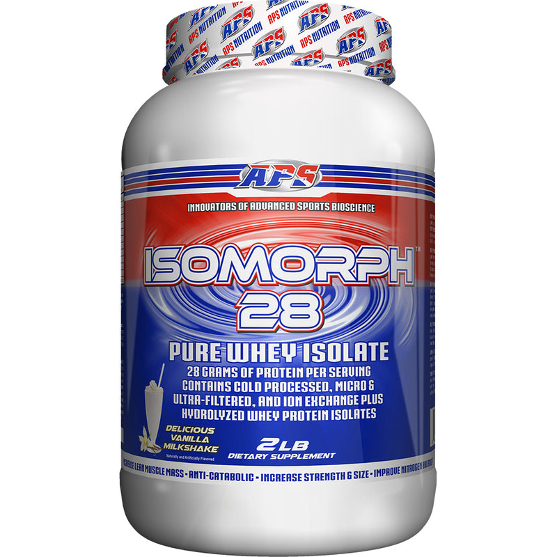 Shop APS Nutrition Isomorph 28, Vanilla Milkshake, 2 Pound online  sports-nutrition-protein-powder-blends
