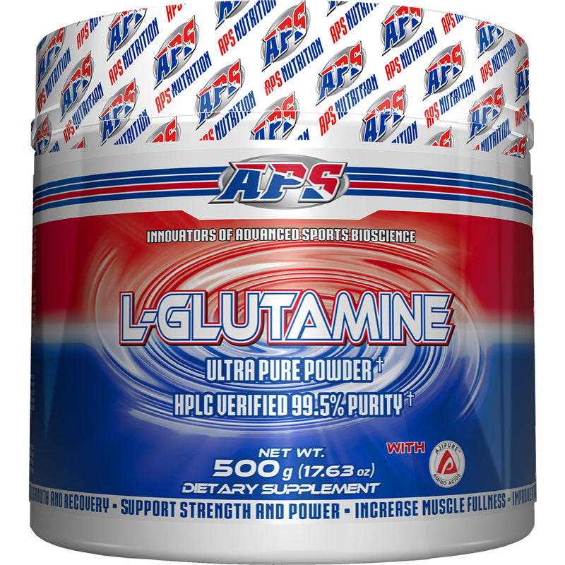 Shop APS Nutrition L-Glutamine, 500 Gram online  l-glutamine-nutritional-supplements