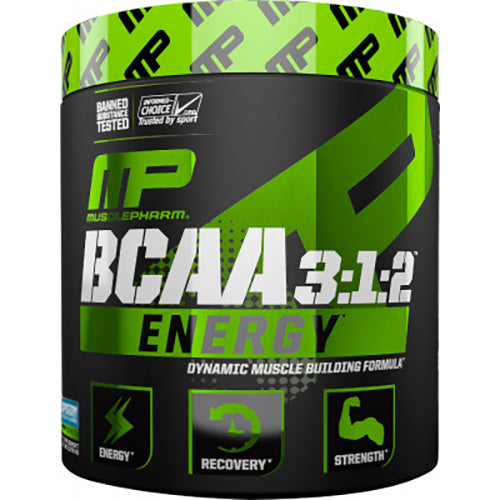 Shop MusclePharm BCAA 3:1:2 Energy, Blue Raspberry, 30 Serving online  branched-chain-amino-acids-nutritional-supplements