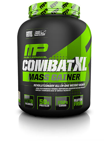 Shop MusclePharm Sport Series Combat XL Mass Gainer, Vanilla, 6 Pound online  sports-nutrition-weight-gainers