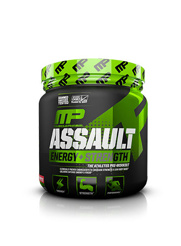 Shop MusclePharm Assault Sport, Strawberry Ice, 30 Serving online  sports-nutrition-pre-workout-powders