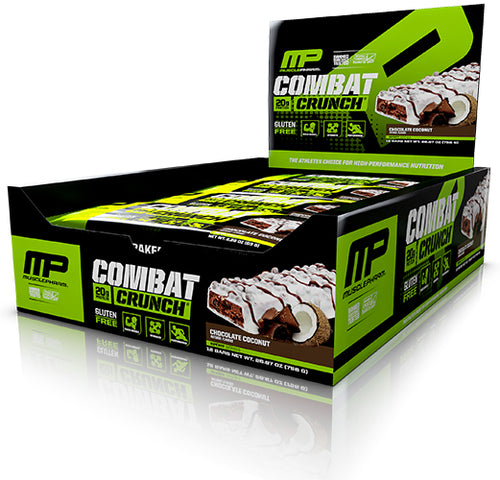 Shop MusclePharm Combat Crunch, Chocolate Coconut, 12 Count online  sports-nutrition-protein-bars