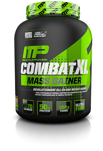 Shop MusclePharm Sport Series Combat XL Mass Gainer, Chocolate Peanut Butter, 6 Pound online  sports-nutrition-weight-gainers