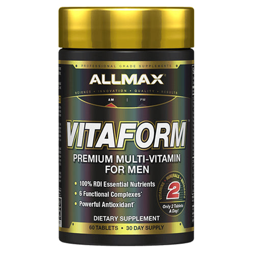 Shop ALLMAX Nutrition Vitaform Premium MultiVitamin for Men, 60 Capsule online  sports-nutrition-multivitamins