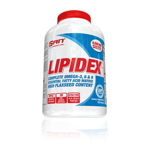 Shop SAN Nutrition Lipidex, 180 Softgel online  fat-burner-weight-loss-supplements