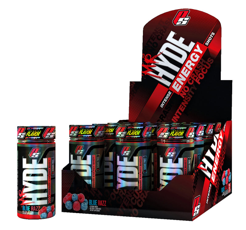 Shop Pro Supps Mr. Hyde Energy, Blue Razz, 24 Count online  sports-nutrition-endurance-and-energy-drinks