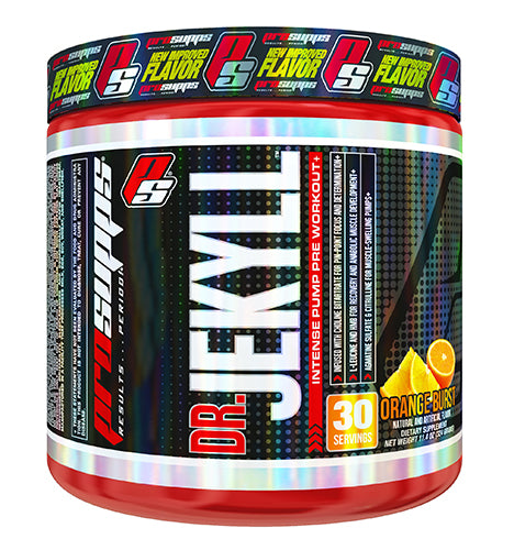 Shop Pro Supps Dr Jekyll, Orange Burst, 30 Serving online  sports-nutrition-pre-workout-powders