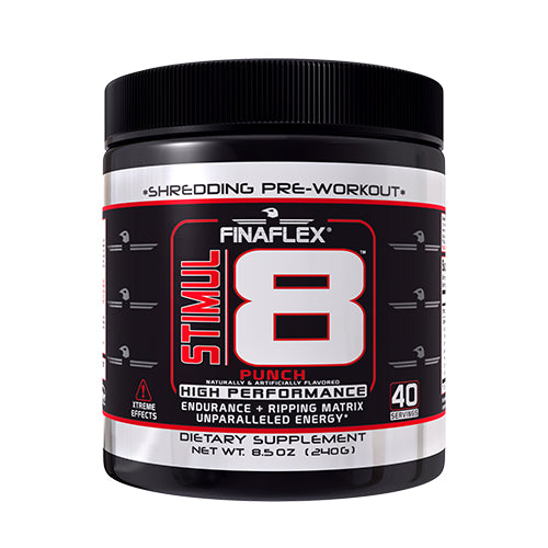 Shop Finaflex Stimul8, Punch, 40 Serving online  sports-nutrition-pre-workout-supplements
