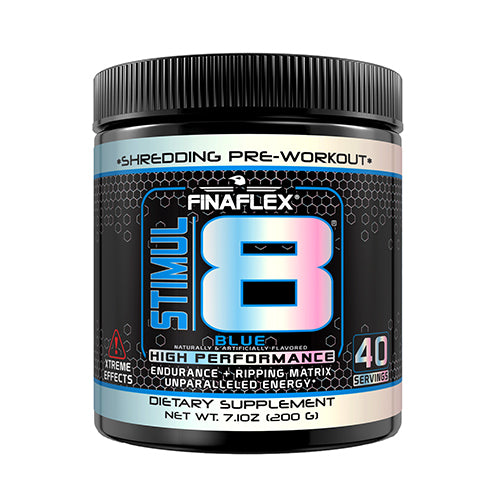 Shop Finaflex Stimul8, Blue, 40 Serving online  sports-nutrition-pre-workout-powders