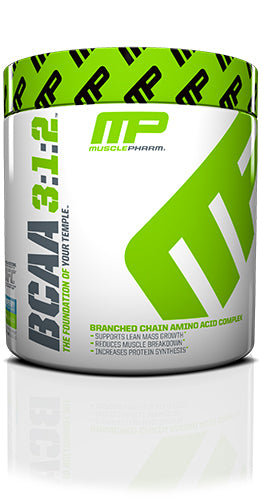 Shop MusclePharm BCAA 3:1:2, Blue Raspberry, 0.47 Pound online  amino-acids