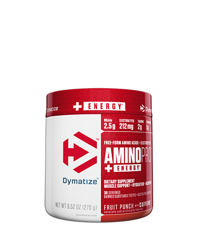 Shop Dymatize Amino Pro With Caffeine, Fruit Punch, 30 Serving online  branched-chain-amino-acids-nutritional-supplements