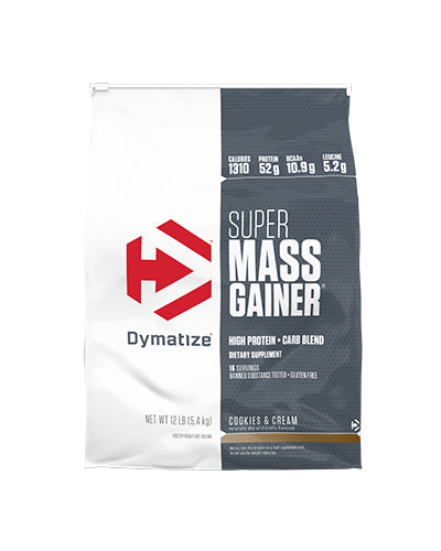Shop Dymatize Super Mass Gainer, Cookies & Cream, 12 Pound online  sports-nutrition-weight-gainers