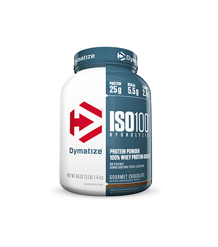 Shop Dymatize Iso-100, Gourmet Chocolate, 3 Pound online  sports-nutrition-whey-protein-isolate-powders