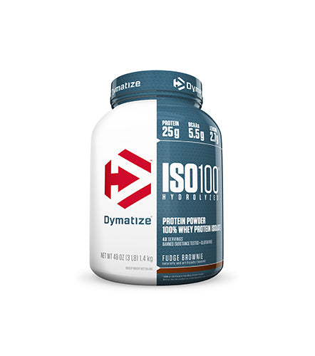 Shop Dymatize Iso-100, Fudge Brownie, 3 Pound online  sports-nutrition-whey-protein-isolate-powders