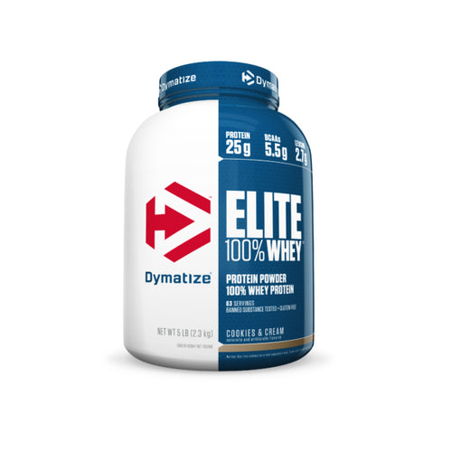 Shop Dymatize Elite 100% Whey Protein, Cookies & Cream, 5 Pound online  sports-nutrition-whey-protein-powders