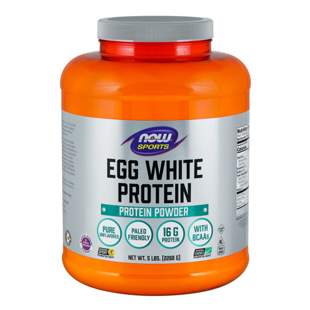 Shop NOW Foods EggWhite Protein, Unflavored, 5 Pound online  protein-nutritional-supplements