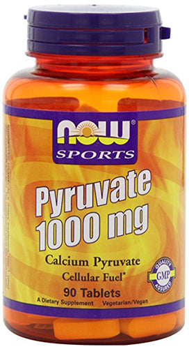 Shop NOW Foods Pyruvate 1000mg, 90 Tablet online  pyruvate-nutritional-supplements
