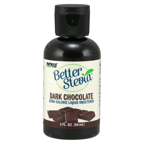 Shop NOW Foods Better Stevia Liquid, Dark Chocolate (RH) online  stevia