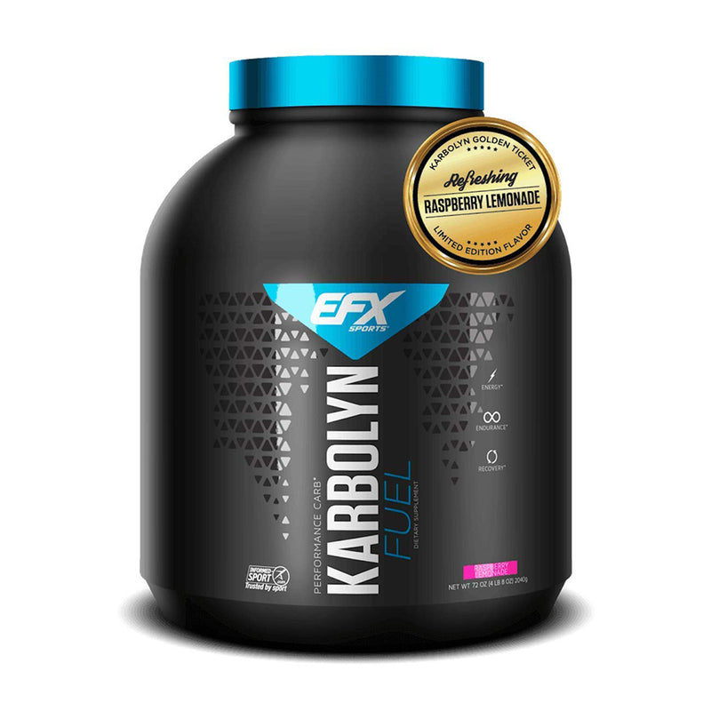Shop EFX Sports Karbolyn FUEL, Raspberry Lemonade, 4.5 Pound online  sports-nutrition-weight-gainers