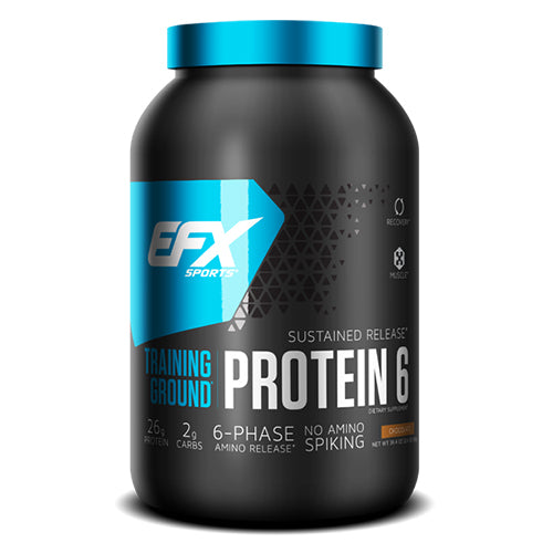 Shop EFX Sports Training Ground Protein 6, Chocolate, 32 Serving online  sports-nutrition-whey-protein-powders