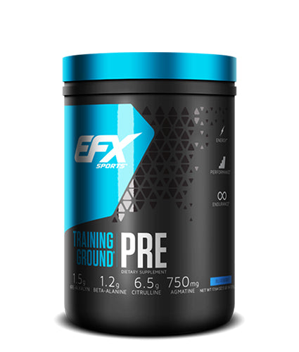 Shop EFX Sports Training Ground Pre, Blueberry, 20 Serving online  sports-nutrition-pre-workout-powders