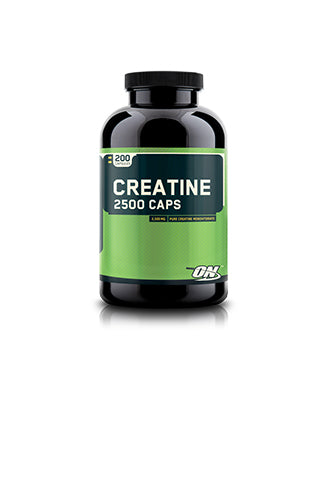 Shop Optimum Nutrition Creatine 2500 Caps, 200 Capsule online  creatine-nutritional-supplements
