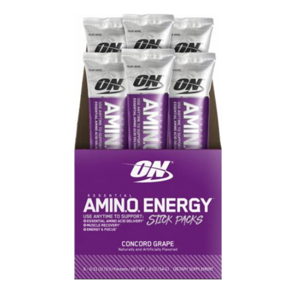 Shop Optimum Nutrition Amino Energy, Concord Grape, 6 Packet online  sports-nutrition-endurance-and-energy-supplements