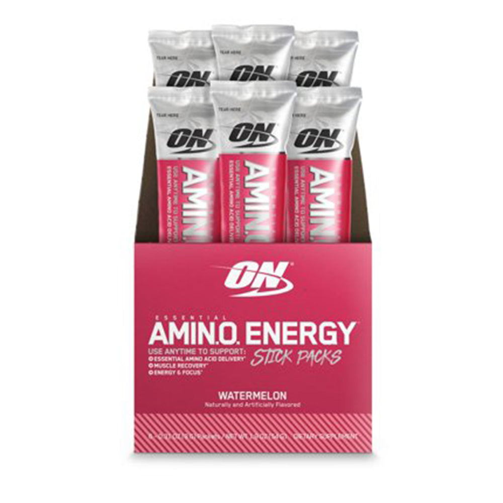 Shop Optimum Nutrition Amino Energy, Watermelon, 6 Packet online  sports-nutrition-endurance-and-energy-supplements